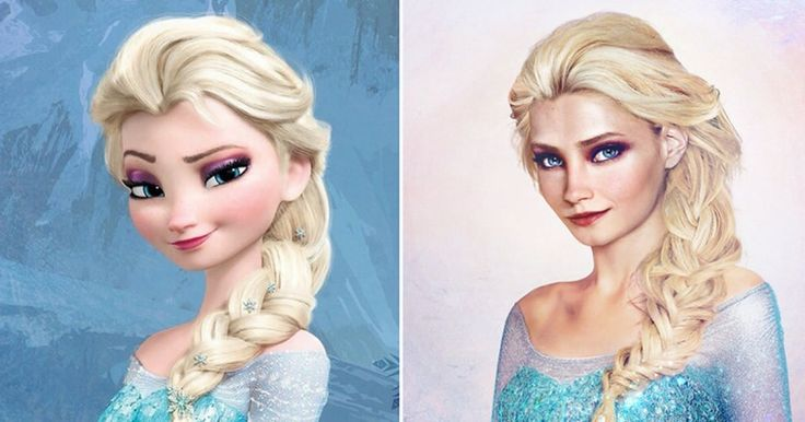 What the real Disney princesses looked like (By Jirka Väätäinen) - 9GAG