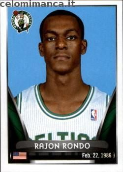2014-15 NBA Sticker Collection: Fronte Figurina n. 7 Rajon Rondo