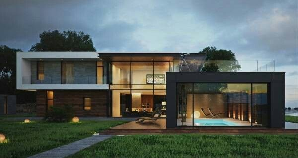 Pin by Roshan Lalwani on Elevation   Modern exterior house