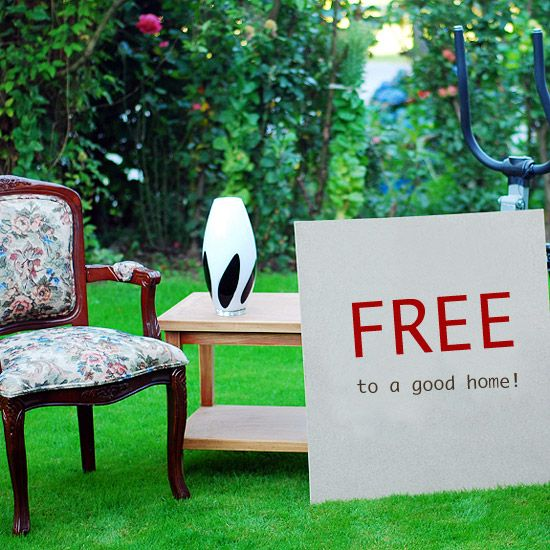Amazing Freebies Hereu0027 What To Do If You Want To Get Rid Of Stuff Fast: