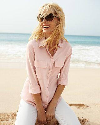 ba54bf5368812d Go Silk Designer Safari Long-Sleeve Silk Shirt | Avivey (Style Lives ...