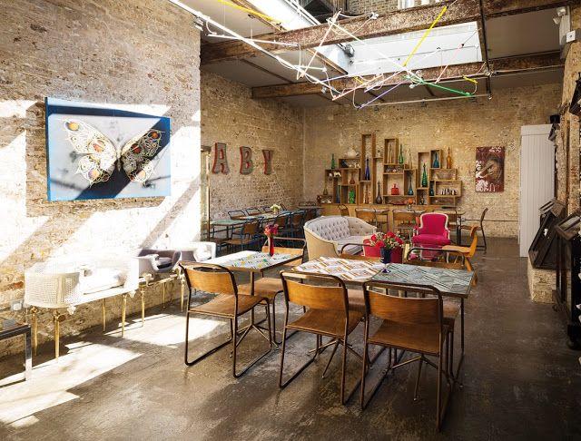 Maison Trois Garcons, en Londres: Posiblemente el local más bonito que he visto   Etxekodeco