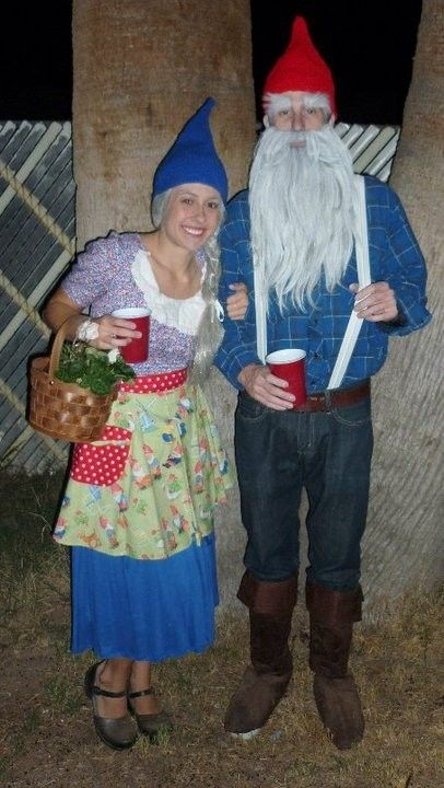 wanted to do this for a couple years but never get around to it gnome costumehalloween costume ideashalloween - Amazing Costumes For Halloween