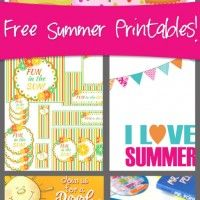 free summer printables | How Does She