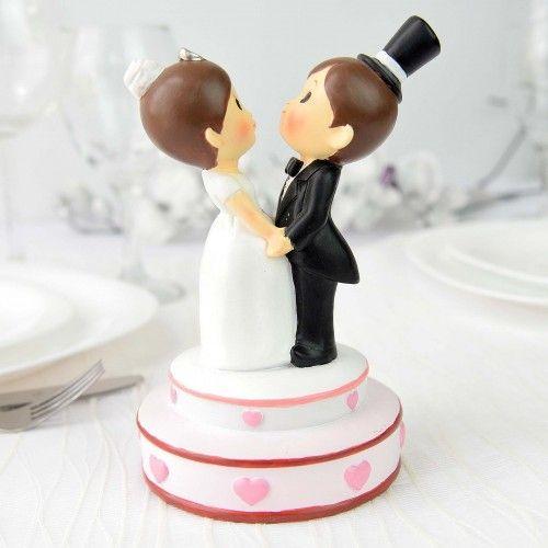 Marturie nunta - magnet cu miri va ajuta sa creati o impresie deosebita celor din jur tocmai prin oferirea unei atentii atat de gingase si placute. marturia are atasat un magnet  poate fi atasata de diferite suprafete va decora placut casele invitatilor