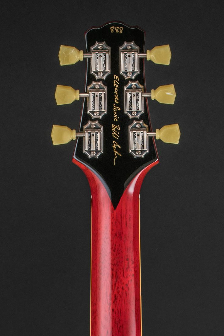 Electro Sonic back of headstock