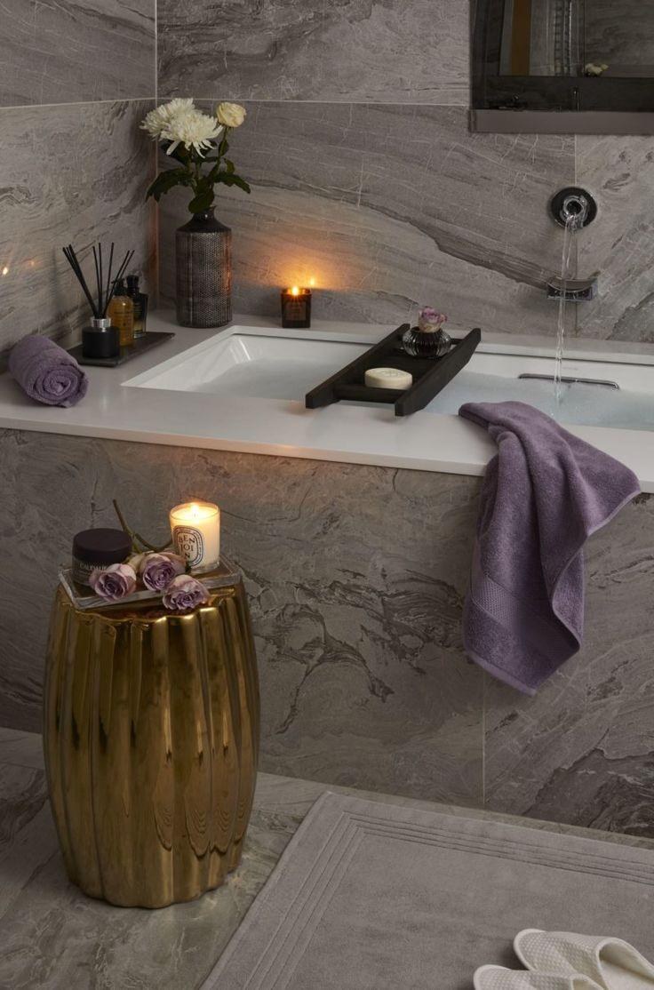 HOW TO CREATE A LUXURY SPA BATHROOM AT HOME – Bathroom ideas