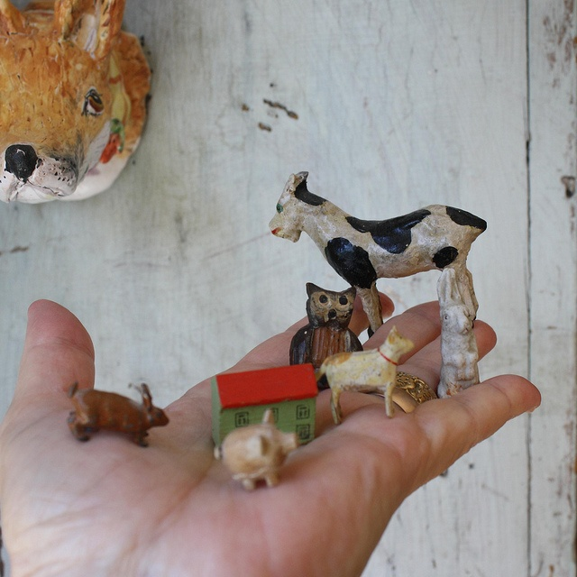 Animal friends by Julie Whitmore Pottery