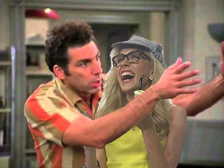 @KatTimpf I think I found it! Did you mean the Seinfeld episode where Kramer falls madly ion love with you?