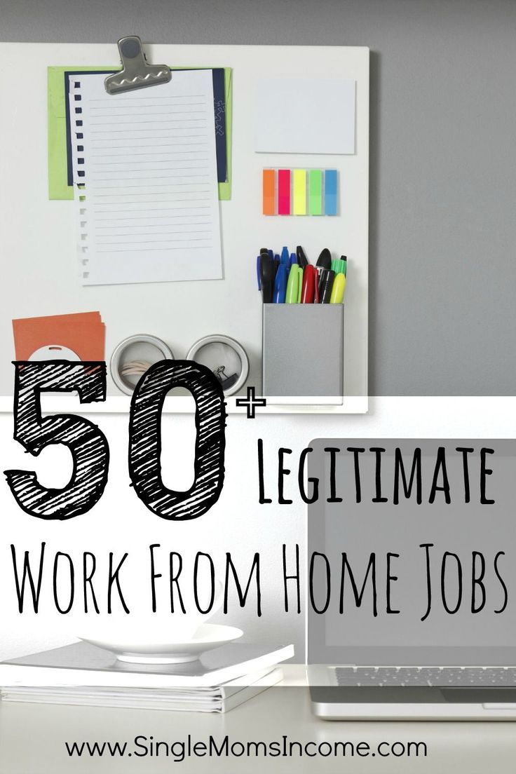 The only way I could get my budget to work for me was to earn more money. I tried countless work from home jobs before finally finding the one that suited me best. I figured that there were probably plenty other people like me searching for a good work from home job so I compiled this huge list of more than fifty legitimate work from home jobs!