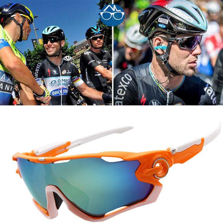 Nuevos Deportes de Los Hombres gafas de Sol Gafas de Ciclismo de Carretera de Montaña Andar en Bicicleta Gafas de Protección Gafas de 10 Colores