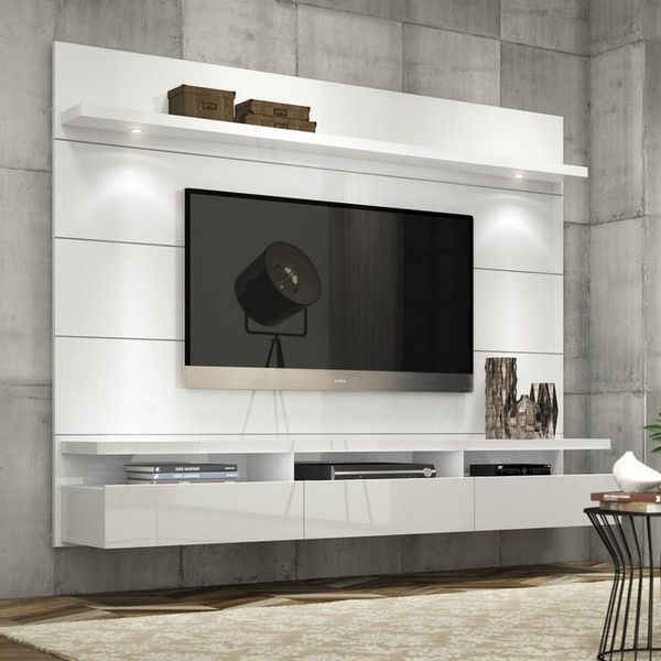 Best 25 floating tv unit ideas on pinterest floating tv cabinet floating tv console and for Floating tv stand living room furniture