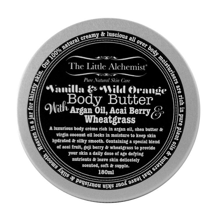 The Little Alchemist Vanilla & Wild Orange Natural Body Butter