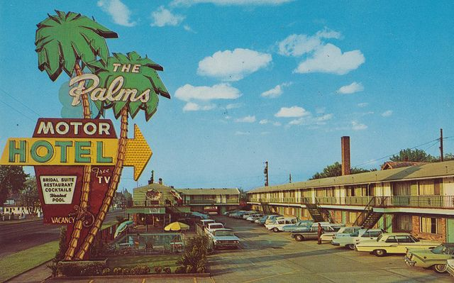 Doric Palms Motor Hotel - Portland, Oregon by The Pie Shops Collection, via Flickr
