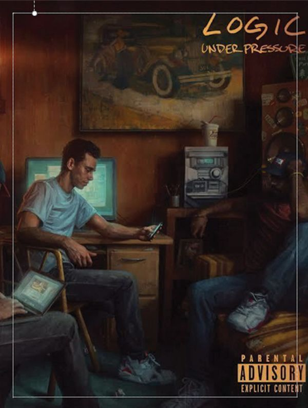 Logic Rapper 24 x 18 Under Pressure Album Artwork Poster! Follow @G_Productions_