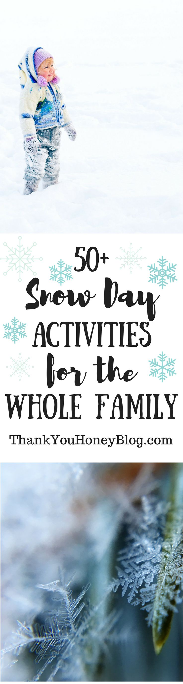 50+ Snow Day Activities for the Whole Family, #SnowDay, Snow Day Activities, Indoor Activities, #Thingstodo, 50 Snow Day Activities For the Whole Family, Family Time, Quality Time, Fun, #Snowedin, Family Fun, Snow, #Crafts, #DIY, #FamilyActivities,