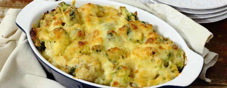 Капустный микс из духовки: простое, диетическое и очень нежное блюдо. Да еще и с моим любимым…