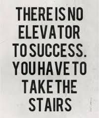 Mark Twain paraphrased: 'You can't just throw a habit out the window. You have to coax it down the stairs, one step at a time.' Move forward. Baby steps count.