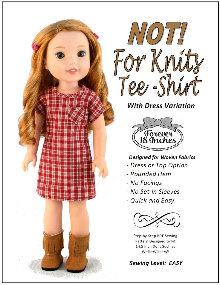 14 Inch Doll Clothes Patterns Free - Pattern Design Inspiration