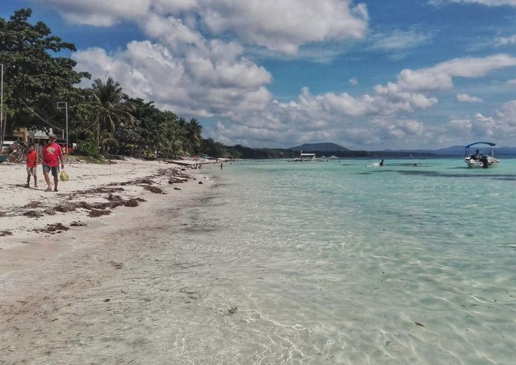 Spiagge tropicali a Panglao, Filippine