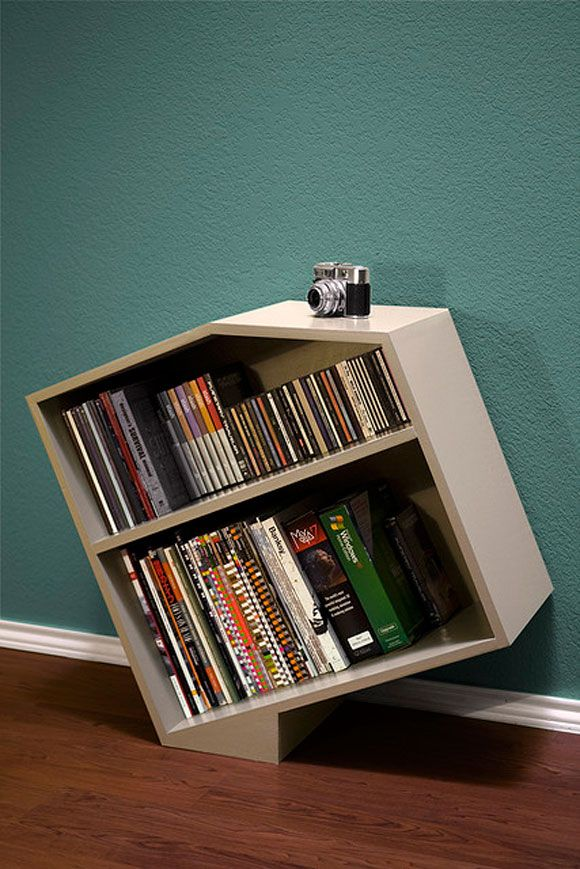 Creative and Contemporary Bookshelf Designs  www.graphicmania….