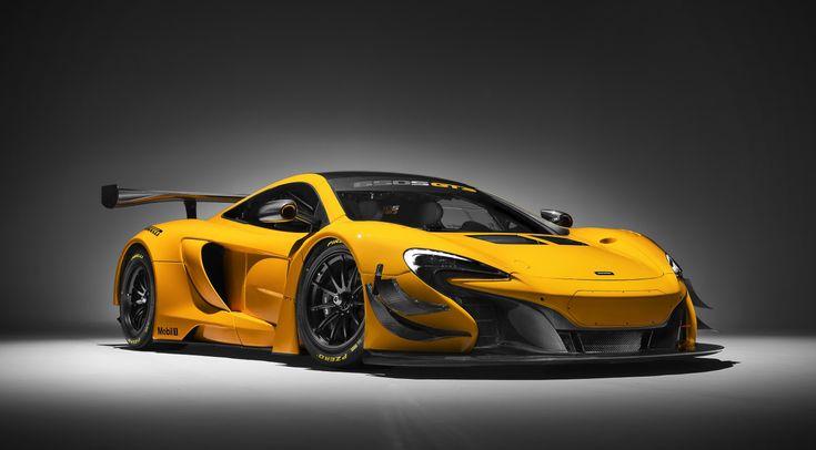 McLaren means business.