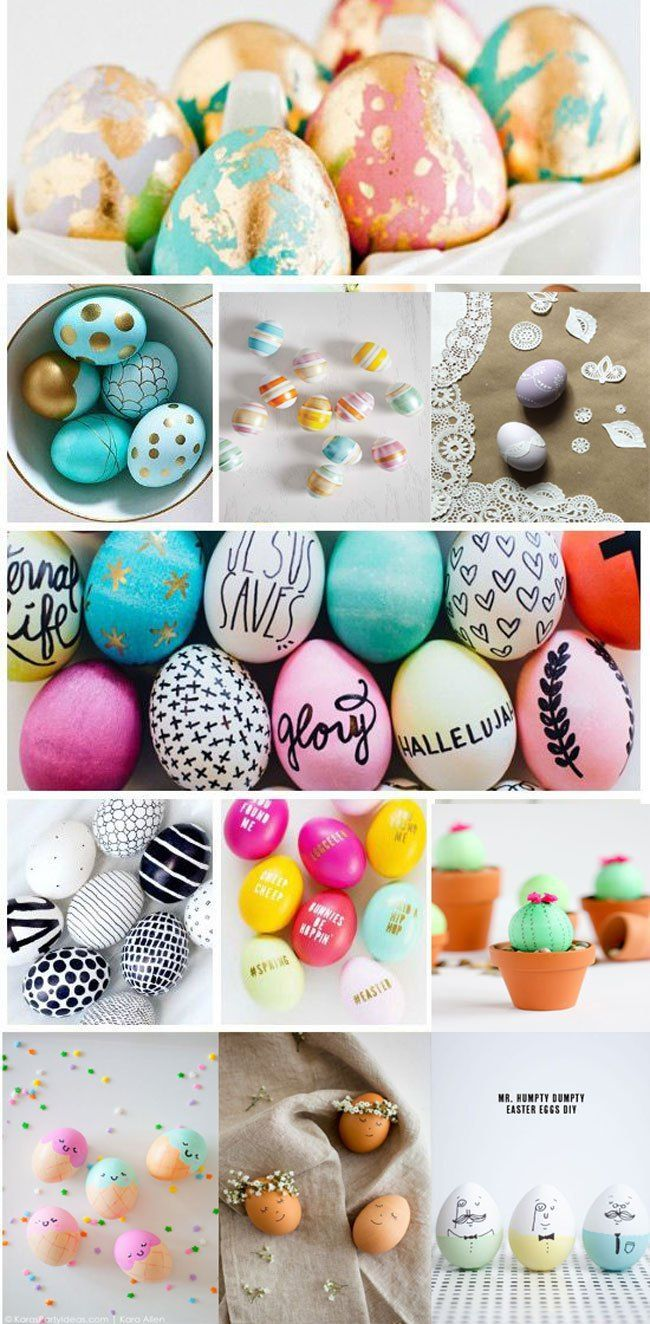- 40 Most Pinned Easter Egg Decorating Ideas On Pinterest Ahşap El
