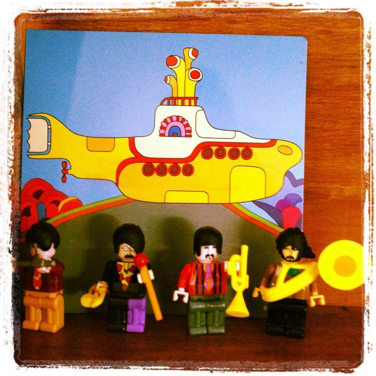 Beatles Yellow like LEGO