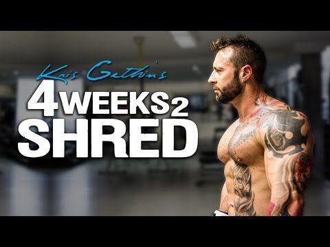 Kris Gethin's 4 Weeks 2 Shred