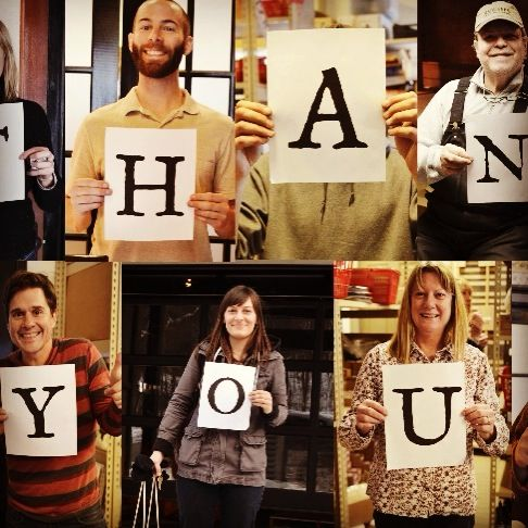 To all of our customers this past year, Team Beekman has something to say...