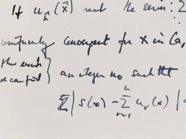 Alan Turing: Handwritten journal of Enigma code-breaker sells for more than $1m - People - News - The Independent