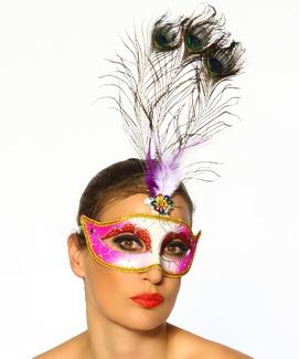 Nieuwe party maskers op onze website www.sexyblingbling.nl