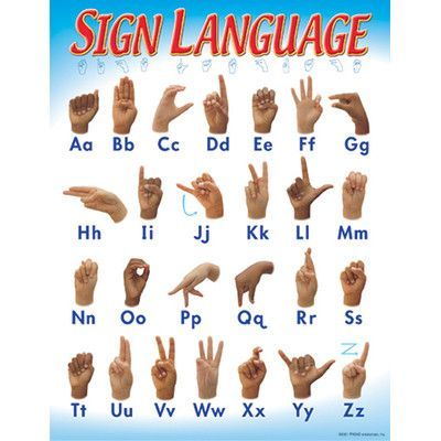 18 Best Sign Language Chart Images On Pinterest | Sign Language