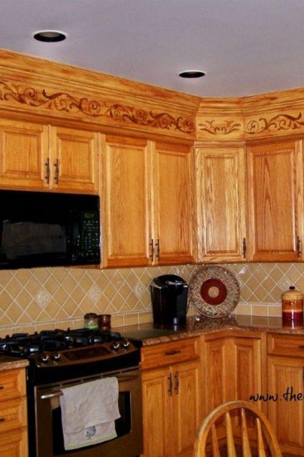 Creative Ideas For Kitchen Soffits Kitchen Soffit Kitchen Decor Kitchen Inspiration Design