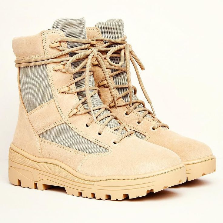 ONLINE NOW: Kanye West's Season 4 Combat Boot in sand suede are available via our website now. Head on over to the Yeezy brand page to purchase  #kanyewest #kanye #season4 #combat #boot #footwear #luxuryfashion #luxury #sportsluxe #athleisure #yeezy #ss17 #menswear #mensstyle #mensfashion #philipbrownemenswear