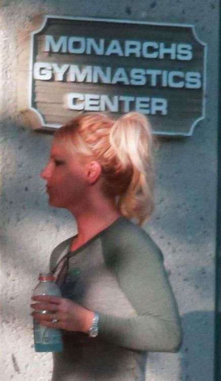 """Britney Spears picking up her sons from """"Monarchs Gymnastics Center"""".  Spears is a Monarch slave, and Monarchs typically (always?) come from multi-generational abuse families, and no doubt her children are being fed into the Monarch machine as fodder for Hollywood pedophiles."""