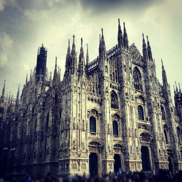 The gothic architecture and tradition!