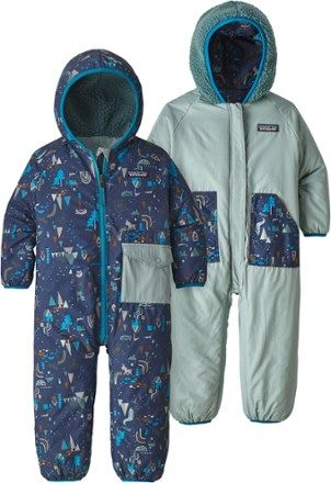 ffea65208977 Patagonia Girl s Reversible Puff-Ball Bunting - Infants ...