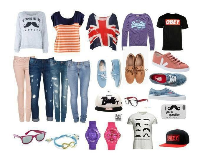 Look 1 : style swag