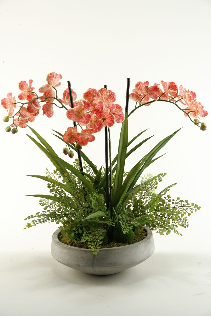 Features:  -Maintenance free.  -Allergy free.  -For home or office.  -Made in the USA.  -Color: Cream and red.  -Style: Contemporary.  Country of Manufacture: -United States.  Product Type: -Floral Ar