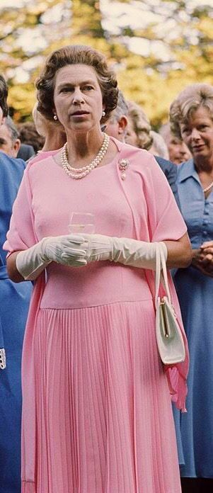 1977-Queen Elizabeth II during a tour of New Zealand
