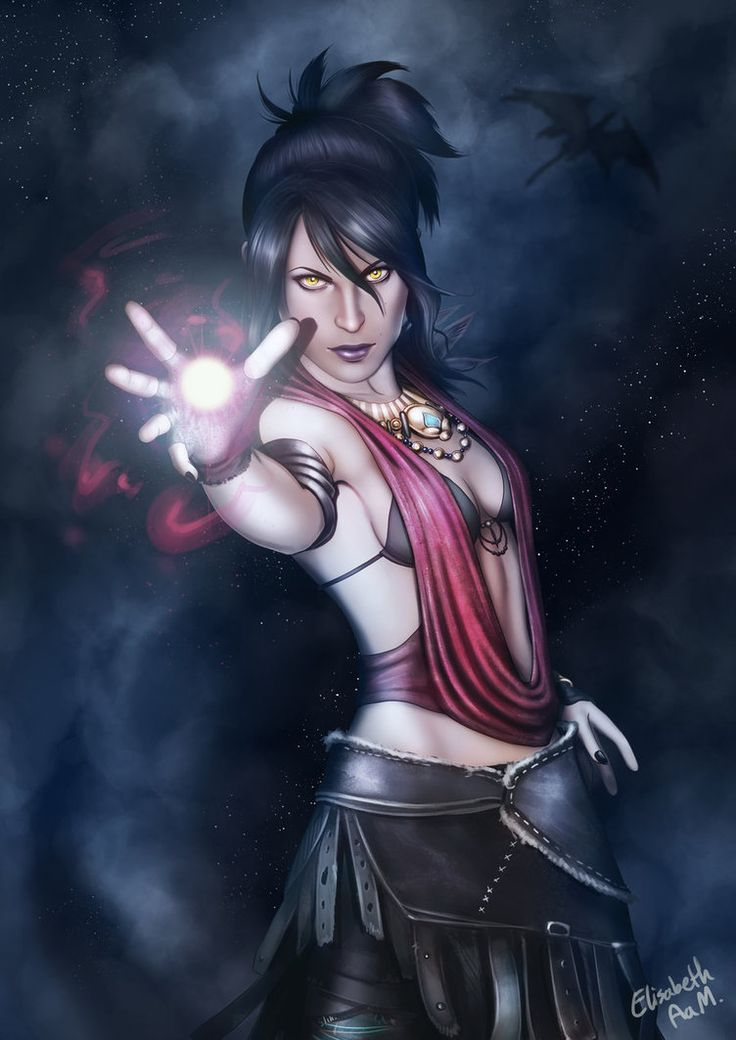 Dragon Age - Morrigan by Emeraldus on deviantART