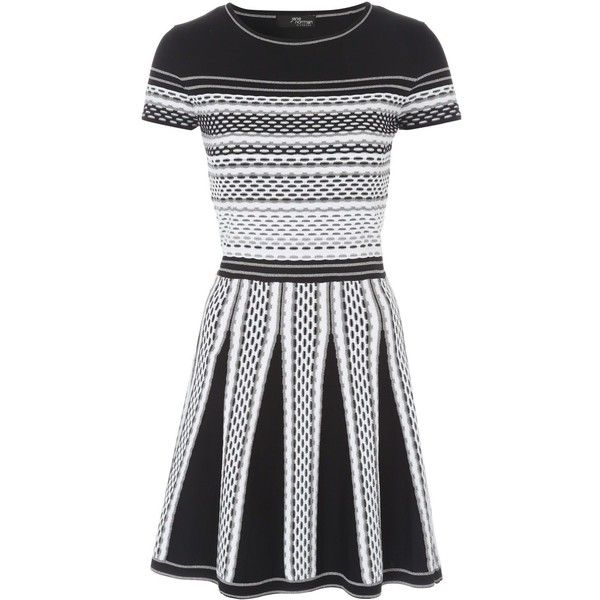 Jane Norman Grey Skater Jumper Dress ($78) ❤ liked on Polyvore featuring dresses, grey, women, going out dresses, grey skater dress, gray party dress, short sleeve party dresses and jane norman