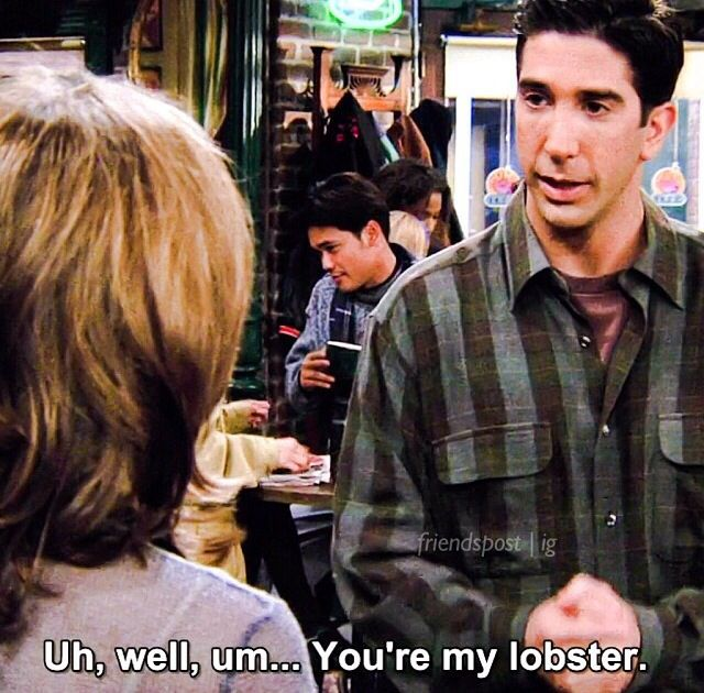 Ross your my lobster <3
