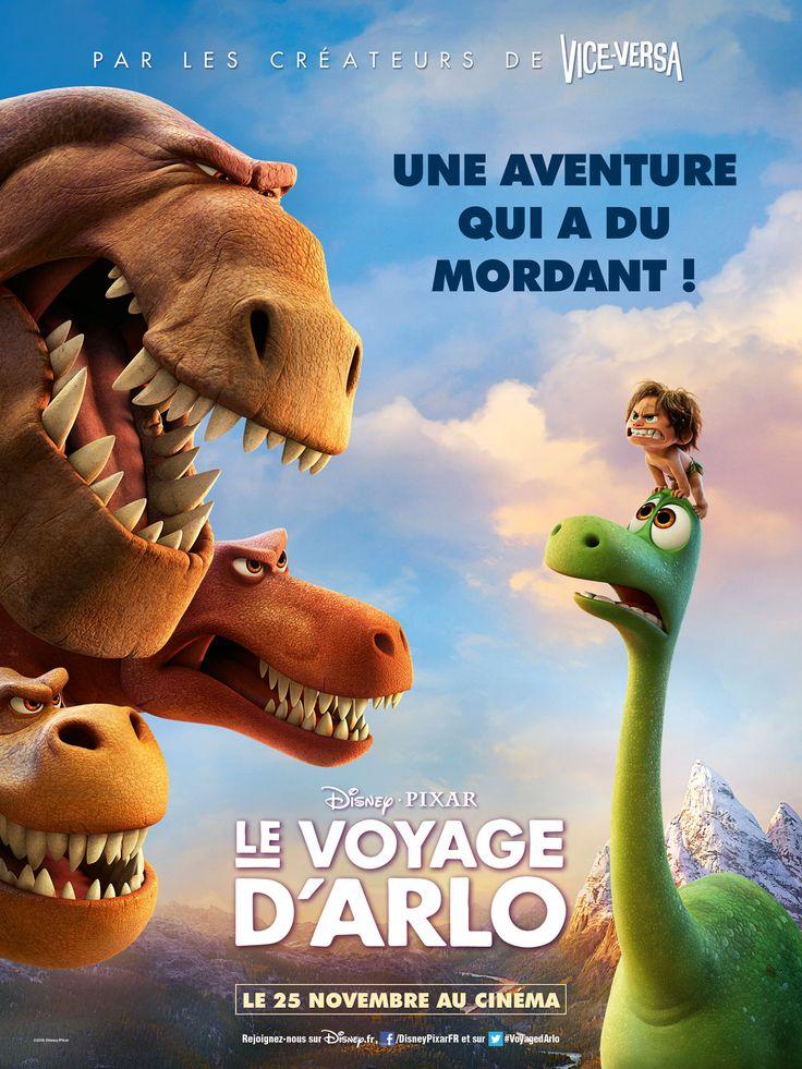 Le Voyage d'Arlo est un film de Peter Sohn avec Jean-Baptiste Charles, Olivia Bonamy. Synopsis : Et si la catastrophe cataclysmique qui a bouleversé la Terre et provoqué l'extinction des dinosaures n'avait jamais eu lieu ? Et si les dinosaures ne