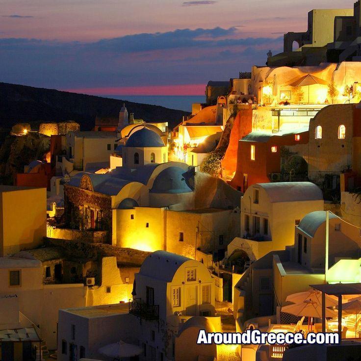 There's something so magical about Santorini at dusk .... #Santorini #Greece #Greekislands #dusk #holidays #vacations #travel #aroundgreece #visitgreece #Oia #Cyclades #Σαντορινη #Ελλαδα #ΕλληνικαΝησια #διακοπες #ταξιδια