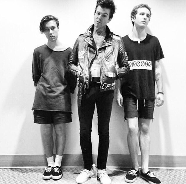 Zach Abels, Jesse Rutherford, & Mikey Margott