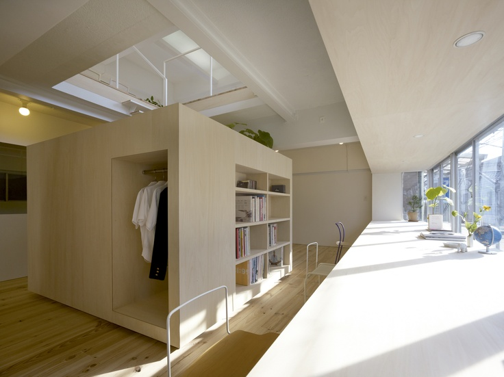 House in Megurohoncho by Torafu Architects. Meguro, Japón. TENMAG. Julio - Agosto 2012