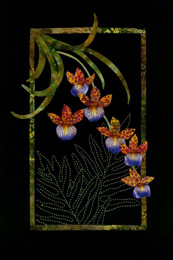 beautiful applique quilt and sashiko by sylvia pippen xxx