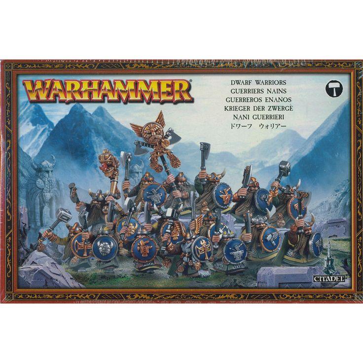 Warhammer Fantasy Dwarf Warriors
